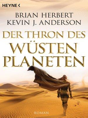 cover image of Der Thron des Wüstenplaneten
