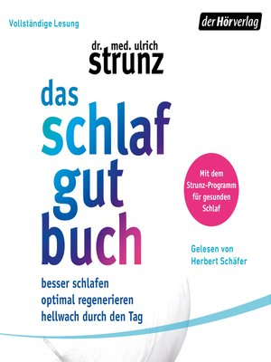 cover image of Das Schlaf-gut-Buch