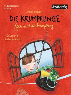 cover image of Die Krumpflinge--Egon rettet die Krumpfburg