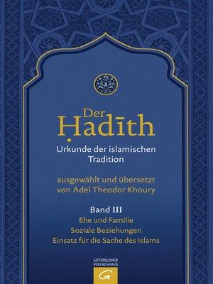 cover image of Ehe und Familie. Soziale Beziehungen. Einsatz für die Sache des Islams