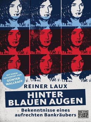 cover image of Hinter blauen Augen