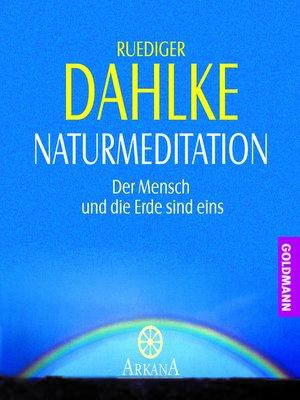 cover image of Naturmeditation