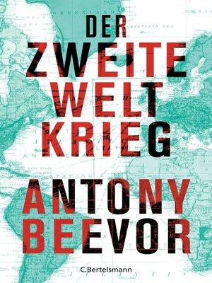 cover image of Der Zweite Weltkrieg