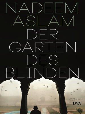 cover image of Der Garten des Blinden
