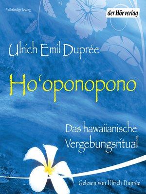 cover image of Ho'oponopono