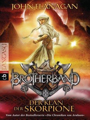 cover image of Brotherband--Der Klan der Skorpione