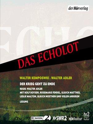 cover image of Der Krieg geht zu Ende