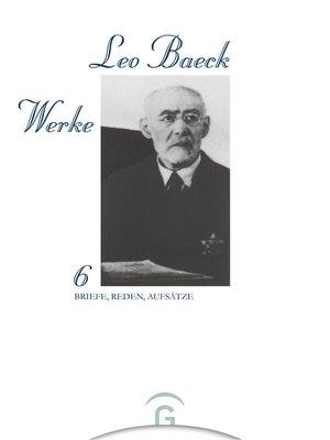 cover image of Briefe, Reden, Aufsätze