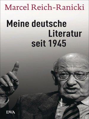 cover image of Meine deutsche Literatur seit 1945