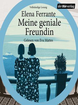 cover image of Meine geniale Freundin
