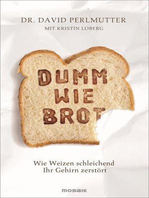 cover image of Dumm wie Brot
