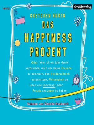 cover image of Das Happiness Projekt