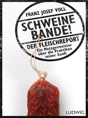 cover image of Schweinebande!