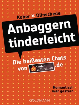 cover image of Anbaggern tinderleicht