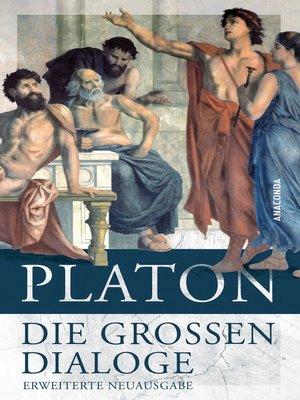 cover image of Die großen Dialoge