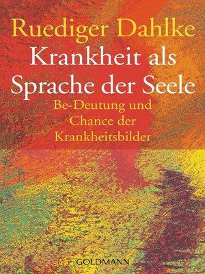 cover image of Krankheit als Sprache der Seele