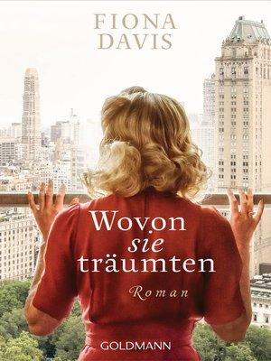 cover image of Wovon sie träumten