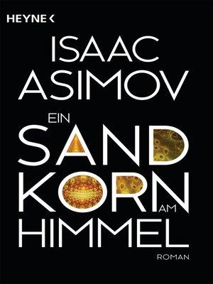 cover image of Ein Sandkorn am Himmel