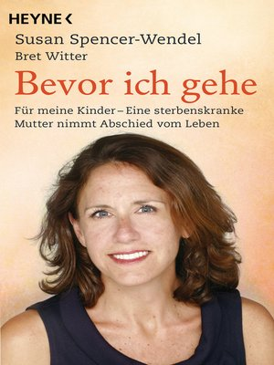 cover image of Bevor ich gehe