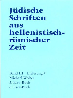 cover image of 5. und 6. Esra-Buch