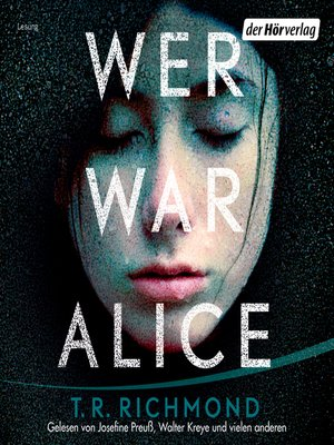 cover image of Wer war Alice