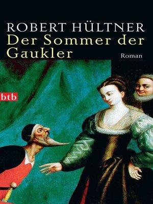 cover image of Der Sommer der Gaukler