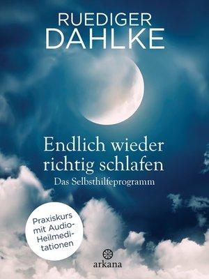 cover image of Endlich wieder richtig schlafen