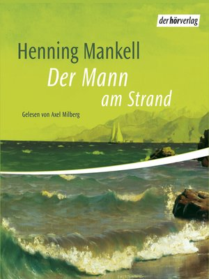 cover image of Der Mann am Strand