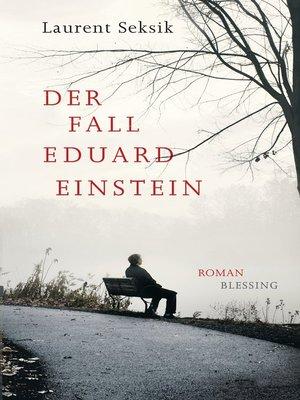 cover image of Der Fall Eduard Einstein