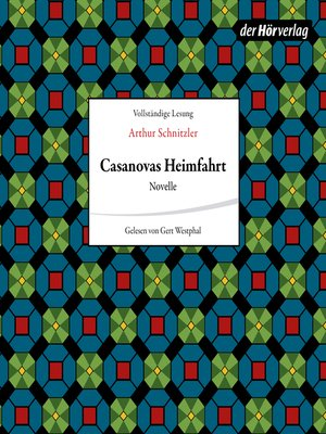 cover image of Casanovas Heimfahrt