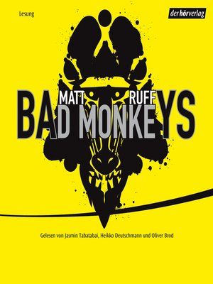 cover image of Bad Monkeys
