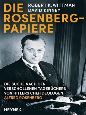 cover image of Die Rosenberg-Papiere