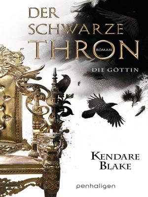 cover image of Der Schwarze Thron 4--Die Göttin
