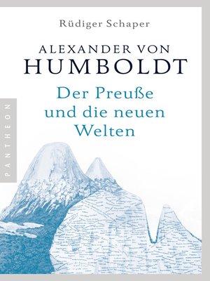 cover image of Alexander von Humboldt