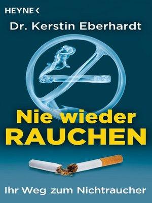 cover image of Nie wieder Rauchen