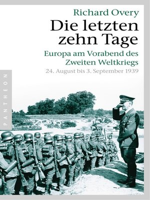 cover image of Die letzten zehn Tage