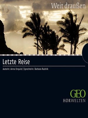 cover image of Letzte Reise