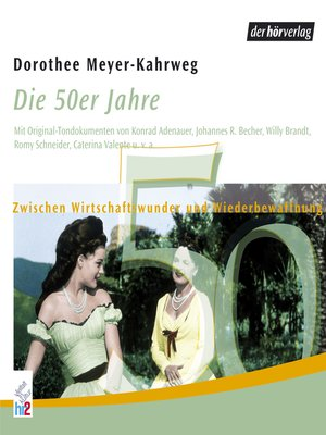 cover image of Die 50er Jahre