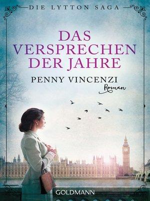 cover image of Das Versprechen der Jahre