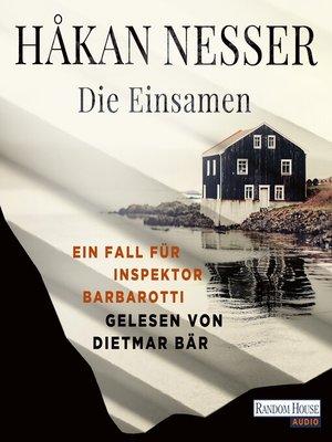 cover image of Die Einsamen -
