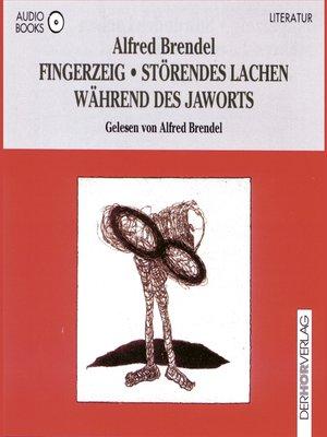 cover image of Fingerzeig / Störendes Lachen während des Jaworts