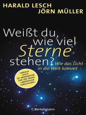 cover image of Weißt du, wie viel Sterne stehen?