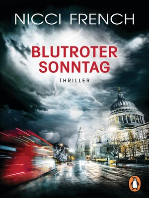 cover image of Blutroter Sonntag
