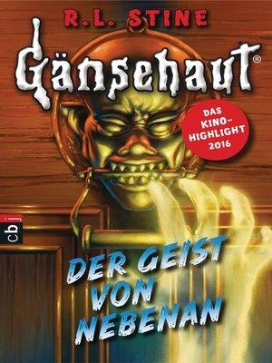 cover image of Gänsehaut--Der Geist von nebenan