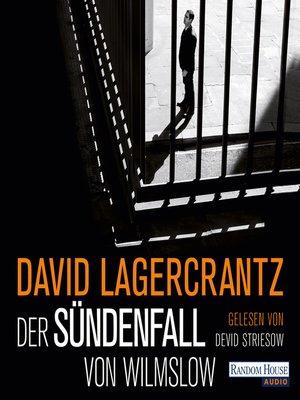 cover image of Der Sündenfall von Wilmslow