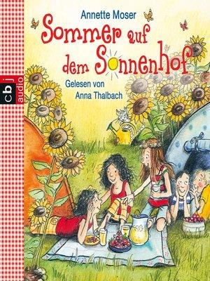 cover image of Sommer auf dem Sonnenhof