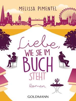 cover image of Liebe, wie sie im Buch steht