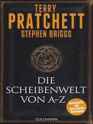 cover image of Die Scheibenwelt von A--Z