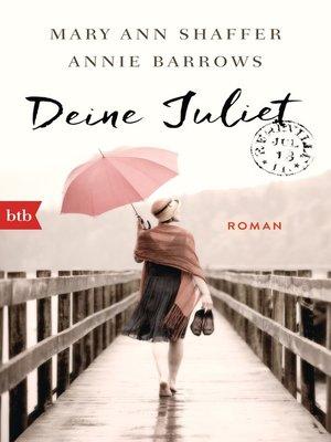 cover image of Deine Juliet