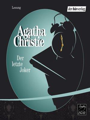 cover image of Der letzte Joker